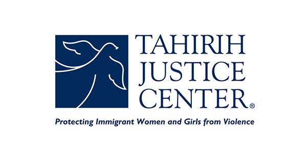 <center>Tahirih Justice Center</center>