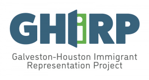 <center>Galveston-Houston Immigrant Representation Project</center>